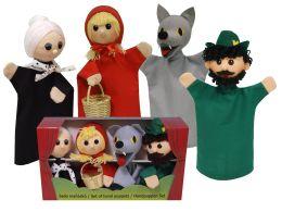 Красная шапочка перчаточные куклы