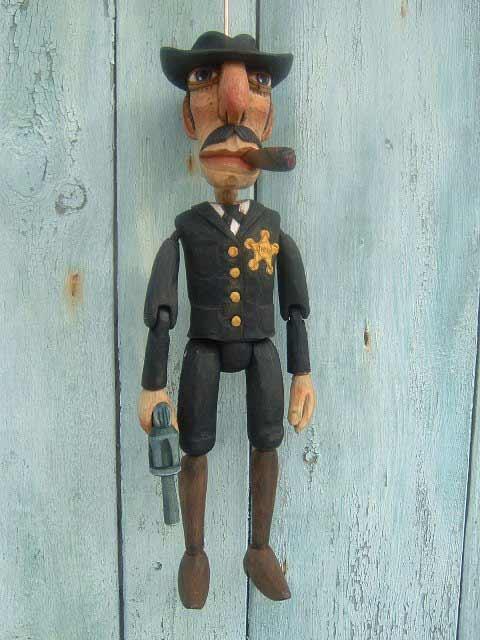 Шериф Джо марионетка