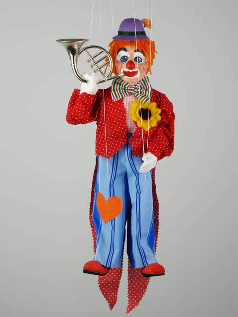 Клоун Бой декоративная марионетка