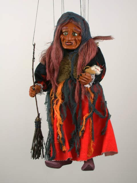 Волшебница Гингема декоративная марионетка