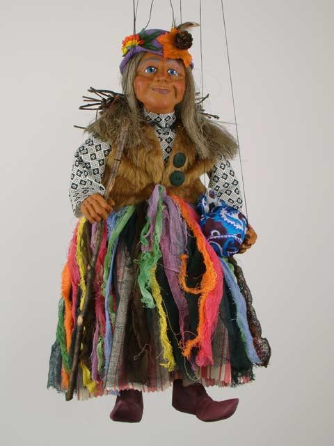 Бабка ,  декоративная марионетка