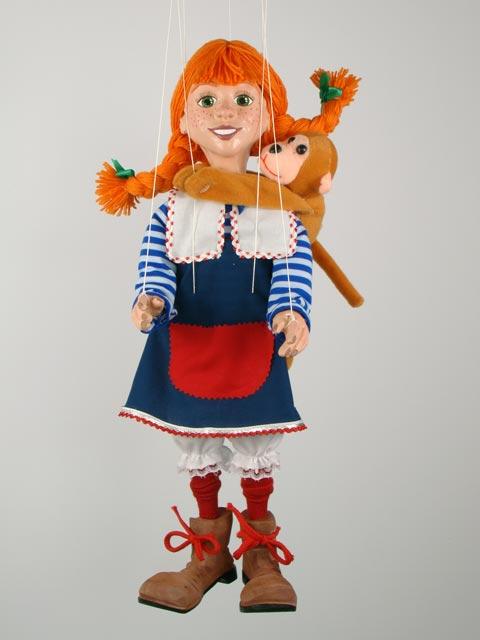 Пеппи Длинныйчулок декоративная марионетка