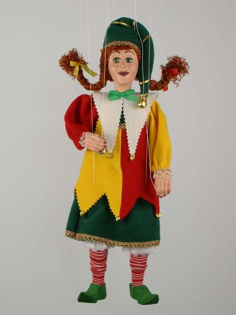 Петрушка Джони декоративная марионетка