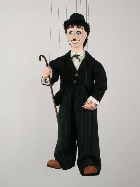 Чаплин Чарли декоративная марионетка