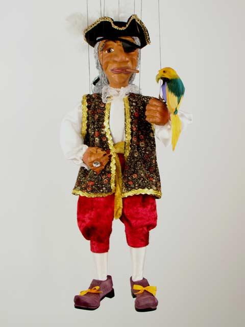 Пират Хьюго декоративная марионетка