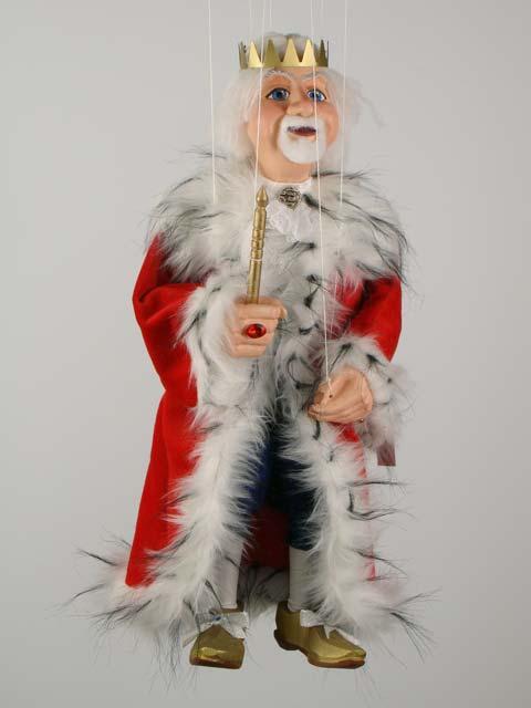 Король Берендей декоративная марионетка