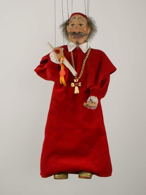 Кардинал Ришелье декоративная марионетка
