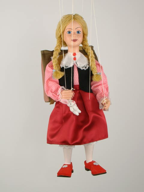 Ученица декоративная марионетка