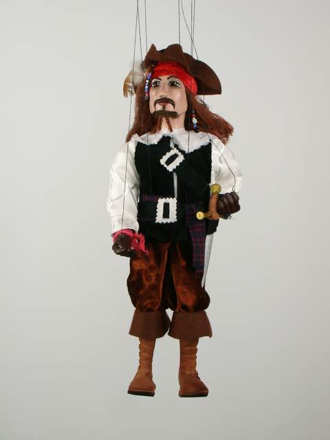 Пират Джек воробей декоративная марионетка