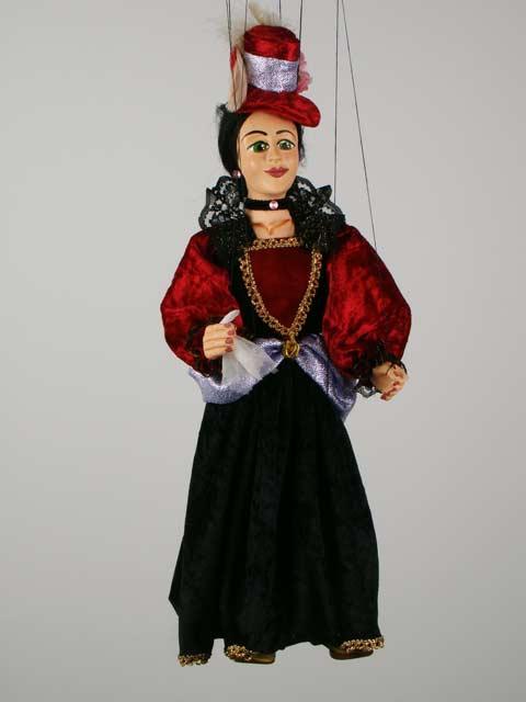 Дама Джесси декоративная марионетка