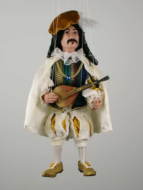 Музыкант Зидан декоративная марионетка
