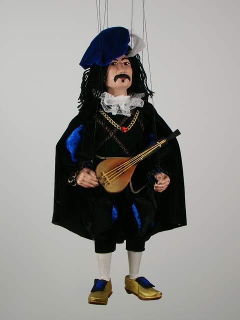 Музыкант Зохан декоративная марионетка