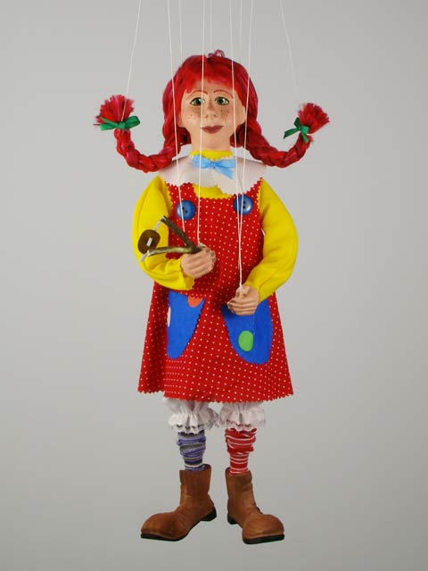 Пеппи декоративная марионетка