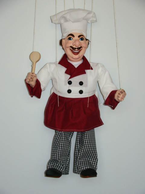 Повар Гордон декоративная марионетка