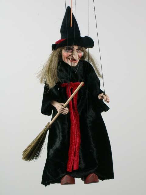 Ведьма ,  оригинальная марионетка