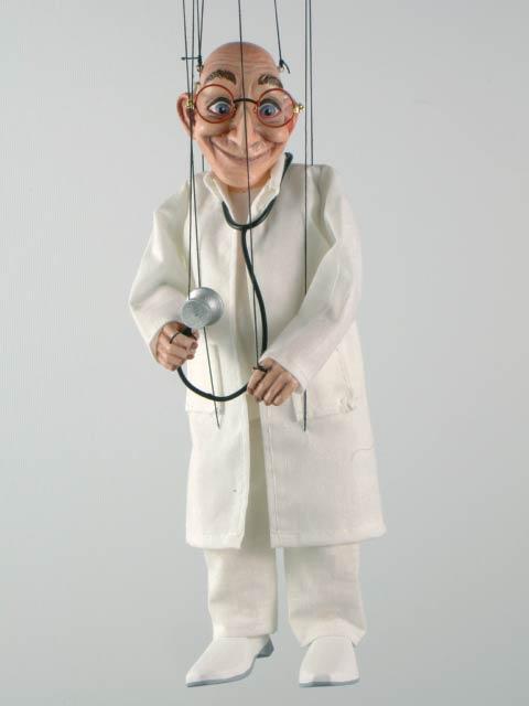 Доктор ,  оригинальная марионетка