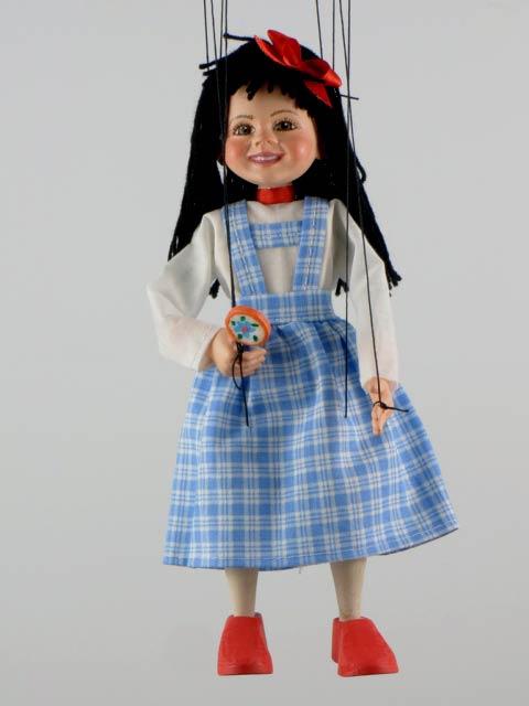 Девочка Инна оригинальная марионетка