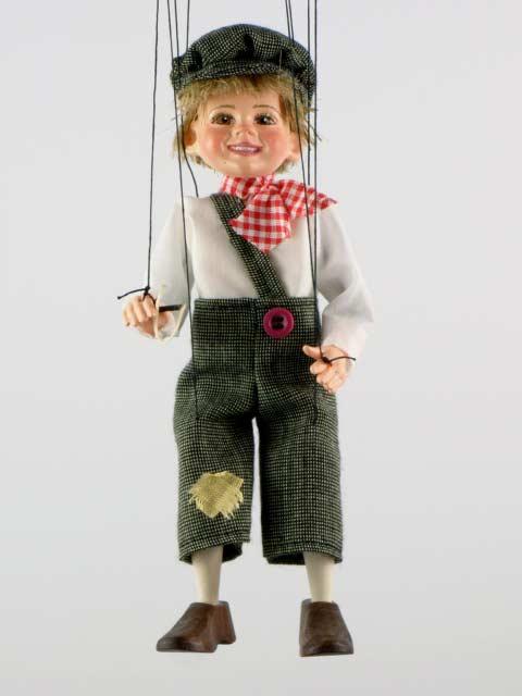 Мальчишка ,  оригинальная марионетка