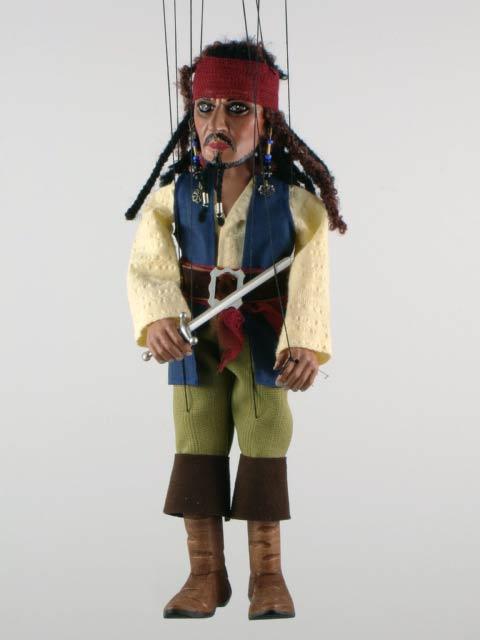 Пират ,  оригинальная марионетка