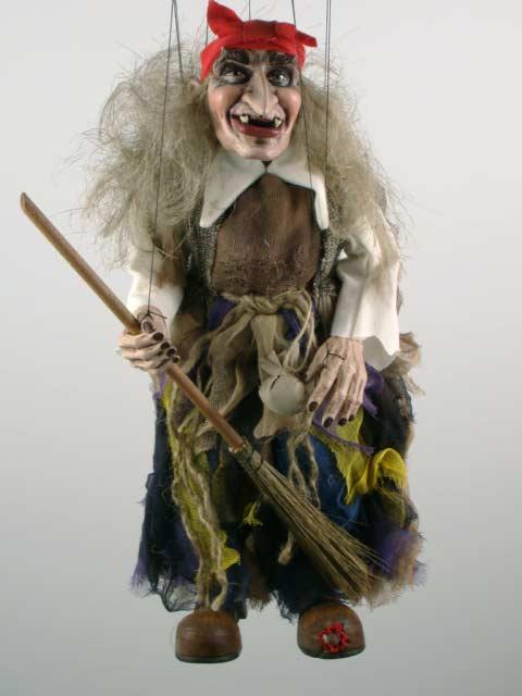 Ведьма Морозко оригинальная марионетка