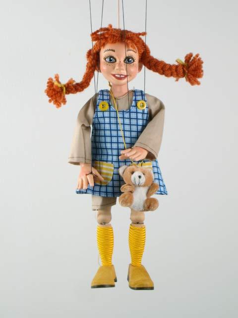 Пеппи Пеппилотта оригинальная марионетка