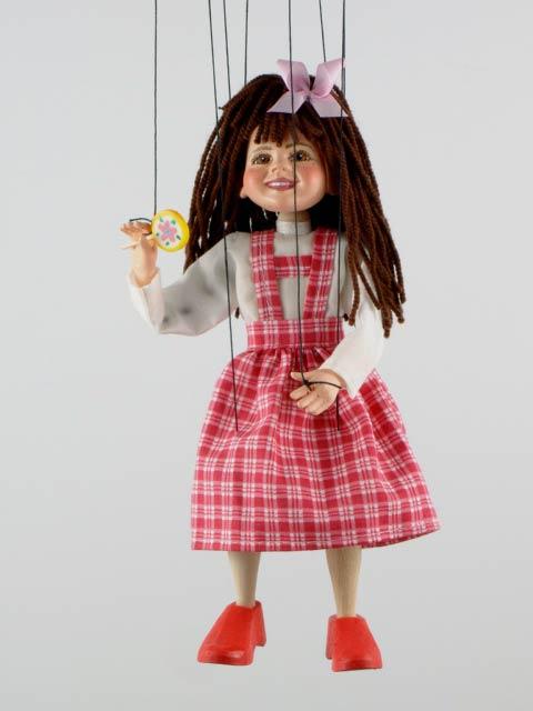 Девочка ,  оригинальная марионетка