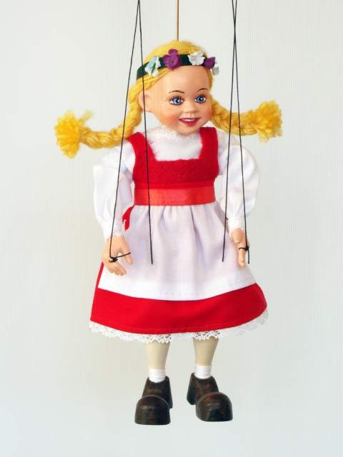 Машенька блонд оригинальная марионетка