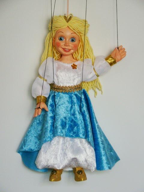 Принцесса ,  оригинальная марионетка