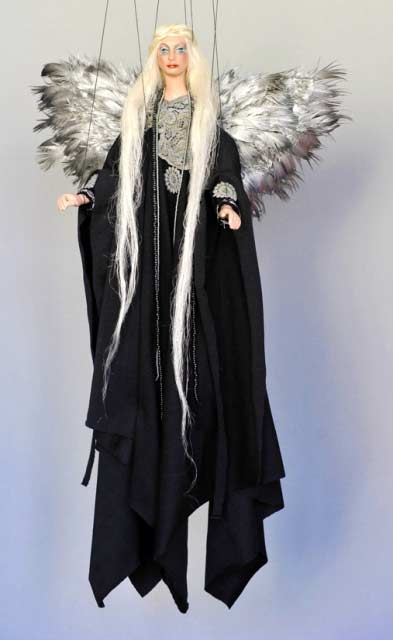 Черный Ангел  марионетка