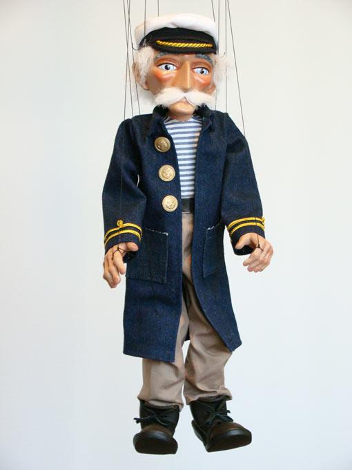 Моряк отставник  оригинальная марионетка