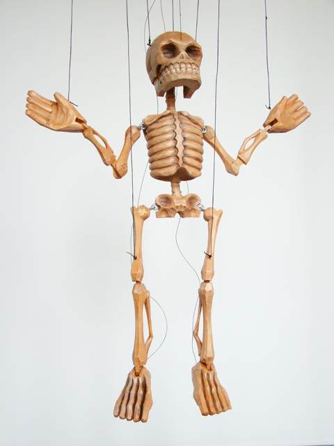 Скелет Лу  марионетка
