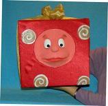 Подарок, кукла чревовещателя