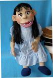 Бэлла, кукла чревовещателя
