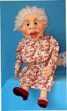 Аврора, кукла чревовещателя