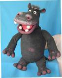 Бегемот, кукла чревовещателя