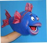 Рыбка Немо кукла чревовещателя