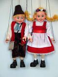 Ганс и Марушка блонд оригинальные марионетки