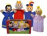 Королевская семья, перчаточные куклы