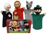 Красная шапочка , перчаточные куклы