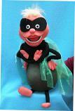 Муха супер герой кукла чревовещателя